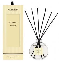 Stoneglow Candles Modern Classics GRAPEFRUIT and MIMOSA Reed Diffuser Gift Boxed